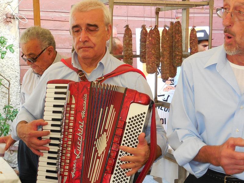 Intermezzo di musica tradizionale