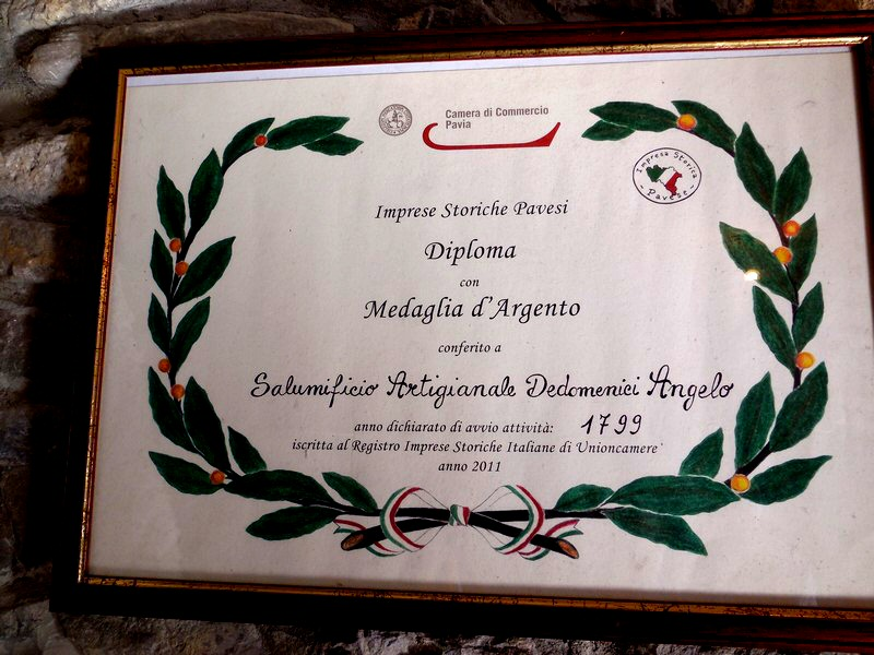 Diploma Imprese Storiche