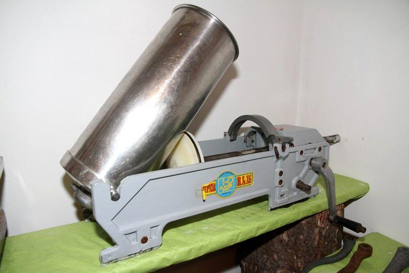 Insaccatrice cilindrica orizzontale